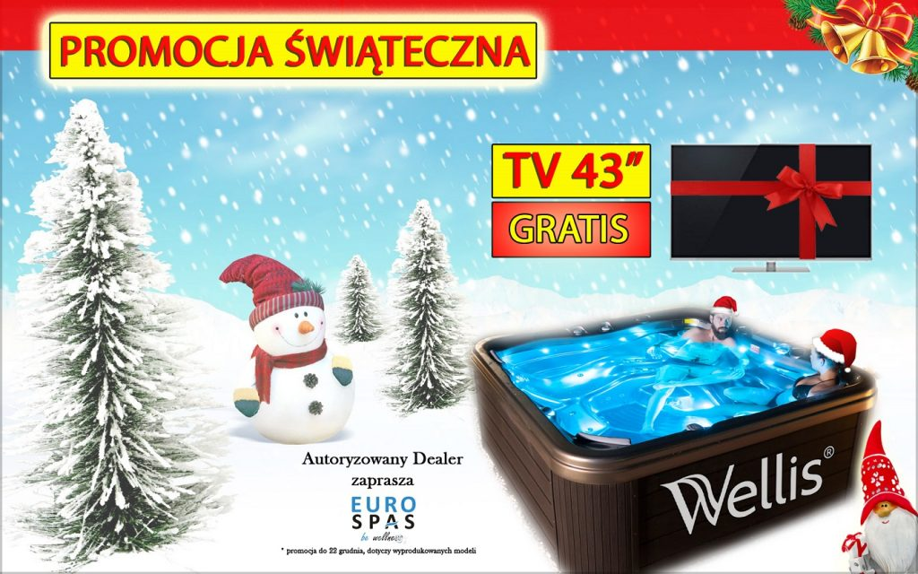 Promocja minibasen jacuzzi wellis wanna spa